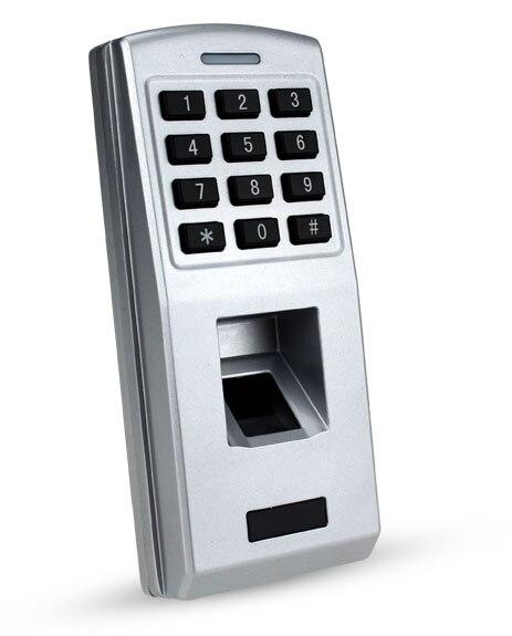 Waterproof Metal Case Durable explosion proof Biometric Fingerprint Access Control Keypad for Door Access Control System