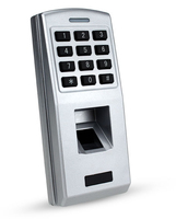 Waterproof Metal Case Durable explosion proof Biometric Fingerprint Access Control Keypad for Door Access Control System