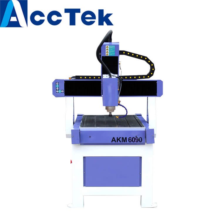 US $2500 0 |Advertising cnc router 6090 / mini wood design cutting machine  for PCB /PVC/ Aluminum/acrylic sheet-in Wood Routers from Tools on