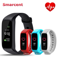 NEW Smarcent L30t Bluetooth Smart Bracelet Heart Rate Monitor Full Color Screen Fitness Tracker Smart Band VS xiaomi mi band 2