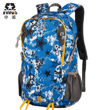 SINPAID New Fashion Women & Men Waterproof Travel Backpack Multifunctional Tour Trip Riding Bag Star Pattern for Teenager Girl