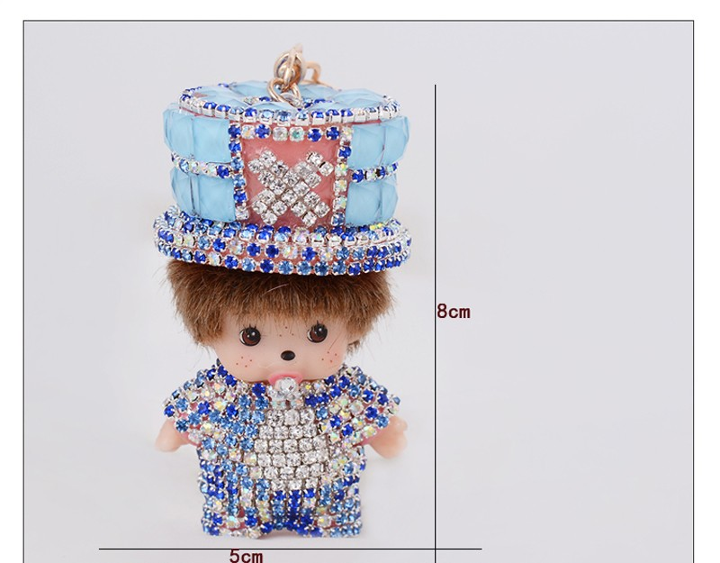monchichi key chains (2)