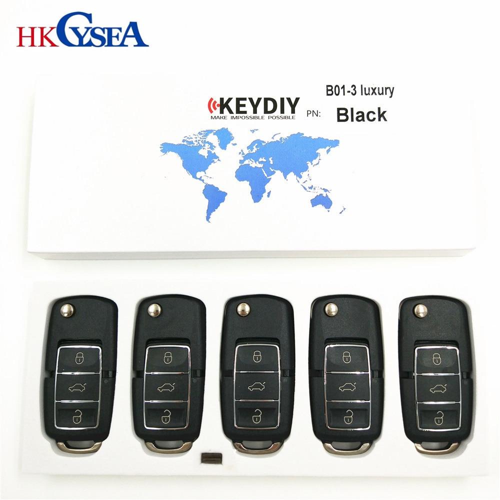 5pcs KEYDIY Original KD900 B Series Remote Control B01 Luxury best quality 3 Buttons for KD900