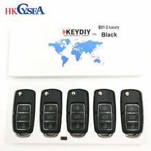 5pcs,KEYDIY Original KD900 B Series Remote Control B01 Luxury best quality 3 Buttons for KD900+ Key Programmer URG200 Machine