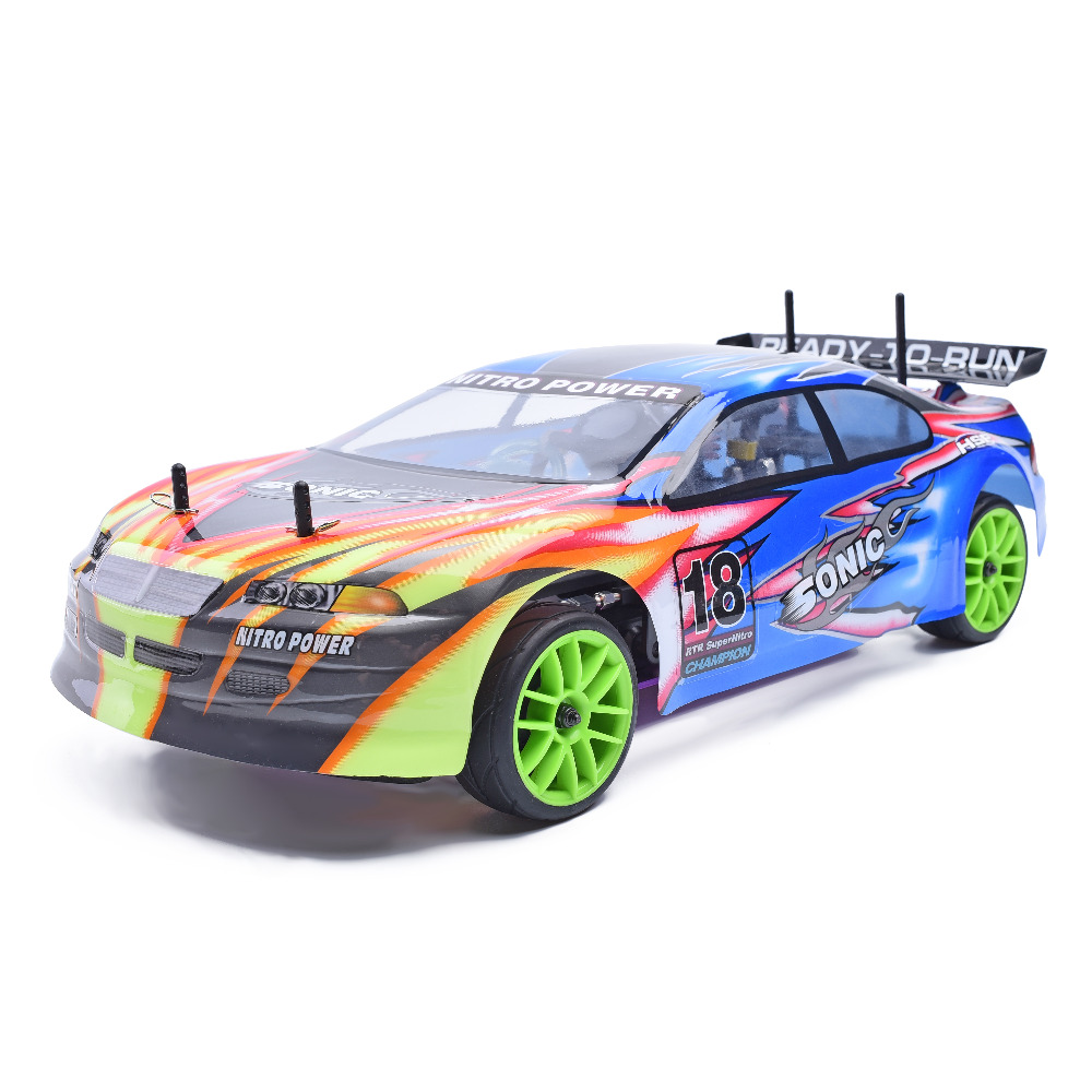 HSP 94102 RC RACING CAR SONIC 1/10 SCALE 4WD ON ROAD NITRO