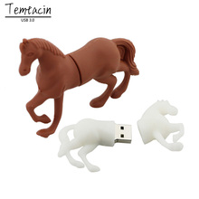 Horse USB Flash Drive 4/8/16/32/64GB U Disk PenDrive 3.0 USB Flash Disk Memory Stick Thumb Drive