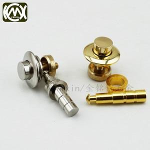 Image 4 - 10pc/lot In stock Copper material dark lock button lock Wooden box hardware accessories Box Lock watch box stretch lock W 062