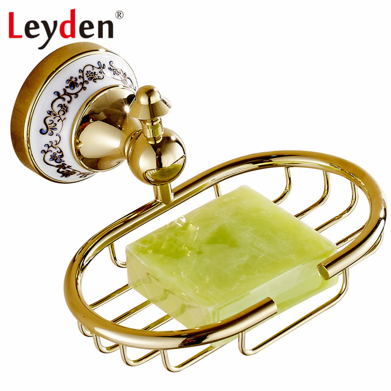 Leyden Gold Oil Rubbed Bronze Wall Mounted Soap Holder