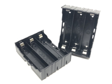 30pcs/lot MasterFire Battery Case Holder For 3 x 18650 3.7V Rechargeable Batteries 1pcs DIY Black Storage Box Cover