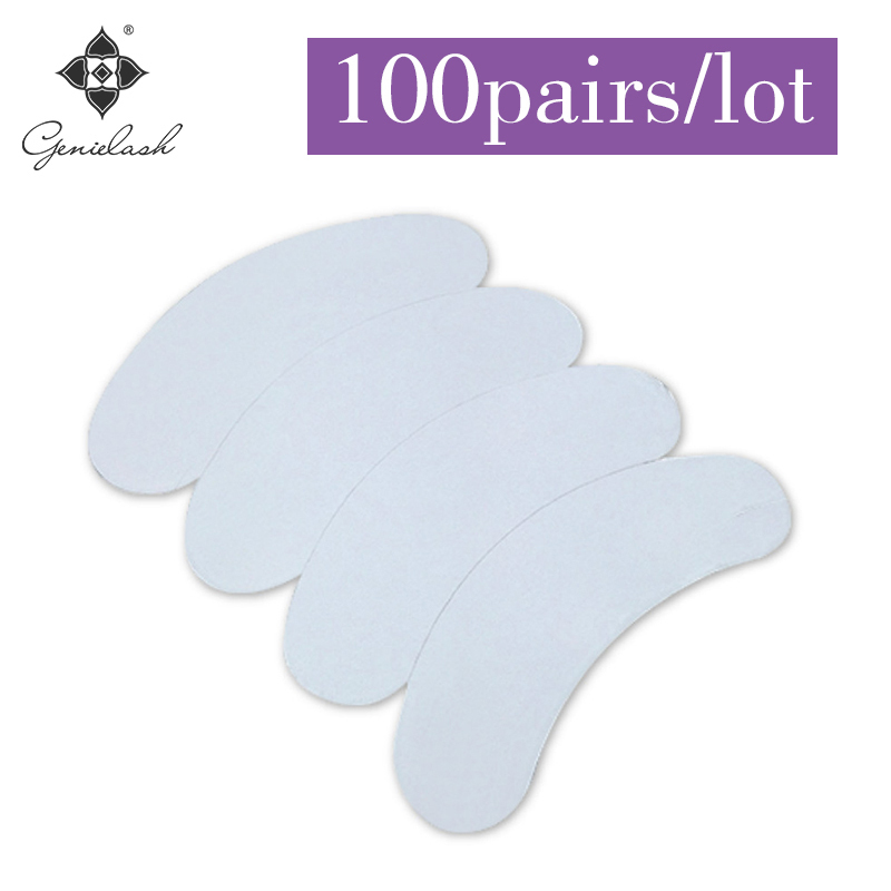 3D Super Thin and Soft  Lint-free Surface Hydrogel EyePatch for Eyelash EXtension eye pads hydrogel patches for lash extensions