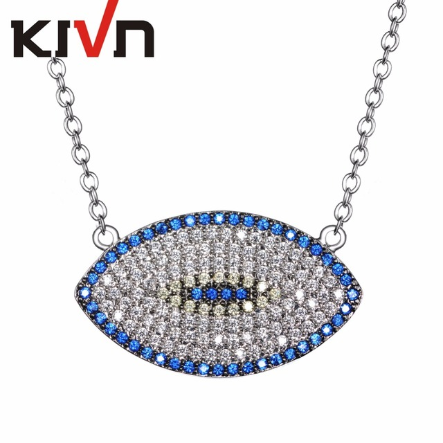 Womens fashion jewelry turkish blue eye cz cubic zirconia bridal womens fashion jewelry turkish blue eye cz cubic zirconia bridal wedding pendants necklaces mothers christmas birthday aloadofball Image collections