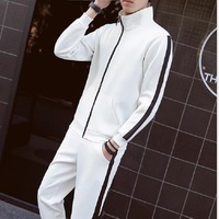 Casual Brand Man Leisure Suit Couples Casual Coat Suit Knit Hoodie Suit Men And Women S