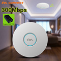 2016! 300 Мбит Потолочный AP Ap COMFAST 2.4 ГГц CF-E320N QCA9531 Открыть dd wrt Маршрутизатор Точка Доступа Wi-Fi Wi-Fi Повторителя Booster 48 В poe