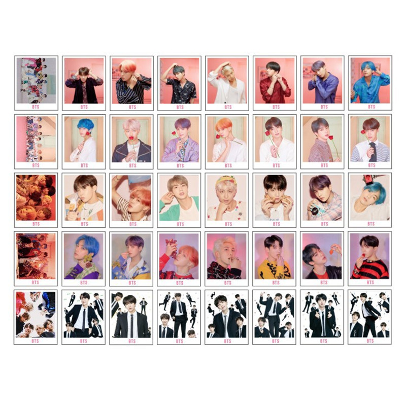 Confident 40pcs/box Kpop Bts Photo Card Bangtan Boys Map Of Soul Persona Army Bomb Album Paper Cardslomo Card Photocard Hf218 Costume Props