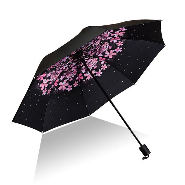 Men Women Sun Rain Umbrella UV Protection Windproof Folding Compact Outdoor Travel Umbrellas Best Price