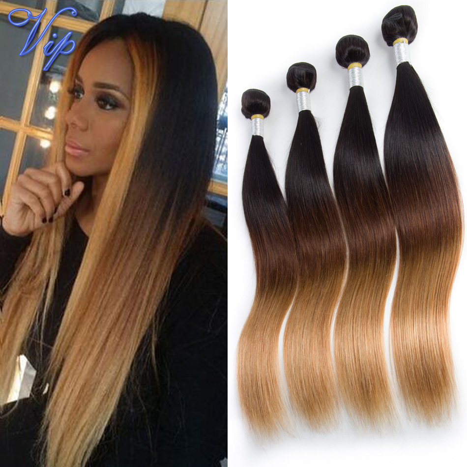 Bele 7a Ombre Brazilian Hair Straight Ombre Hair