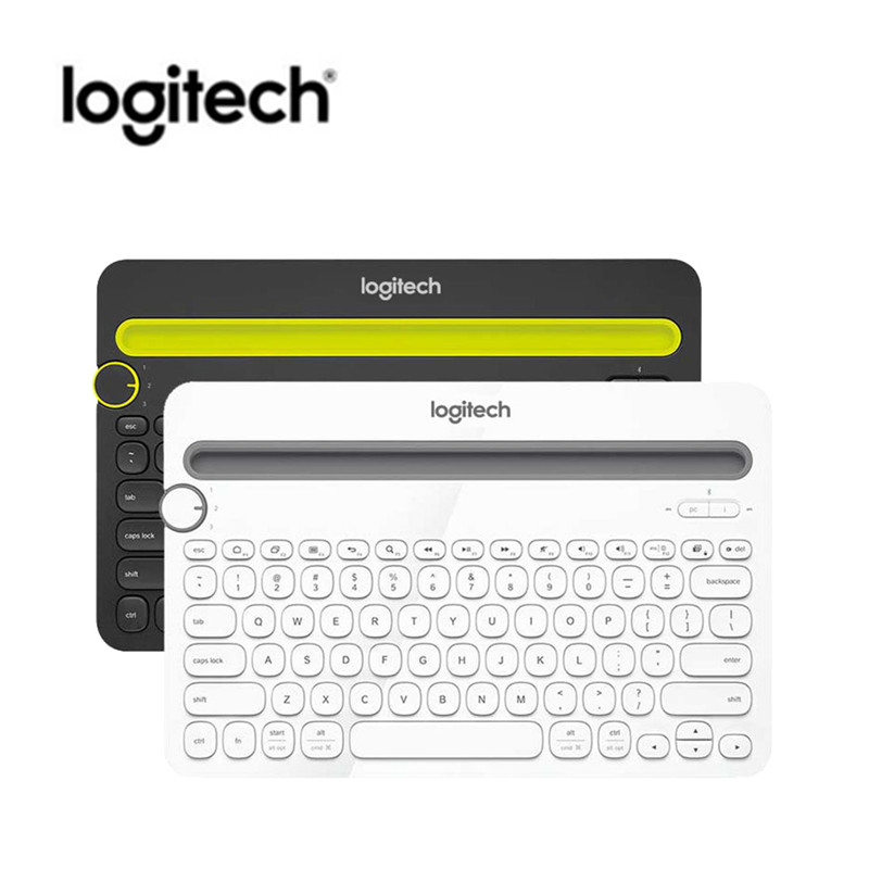 Original Genuine Logitech K480 Bluetooth Keyboard Mobile Mac Tablet Laptop Multi-Device Thin Mini Mute Keyboard With PC Laptop