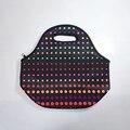 Thermo lancheira теплоизолирующего неопрена обед мешок для женщин детей lunchbags сумка с застежкой-молнией охладителя коробки обед изоляции мешок