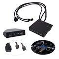 """19PIN USB3.0 USB $ NUMBER Puertos Hub + HD Audio PC Floppy Expansión Panel Frontal Conector para Ordenador 3.5 """"Floppy unidades"""