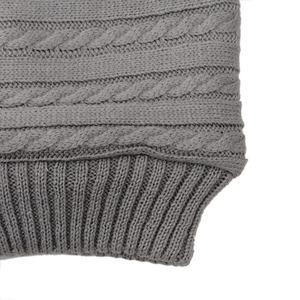 Image 5 - Coperta per bambini calda maglia per neonato Swaddle Wrap morbido sacco a pelo per bambini coprigambe busta in cotone per passeggino accessori coperta