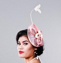 Элегантные Дамы Случаю, Cocktai, События, Гонка чародей, женщины белье перо шляпа, свадьба/партии волос аксессуар, перо hat MD16025