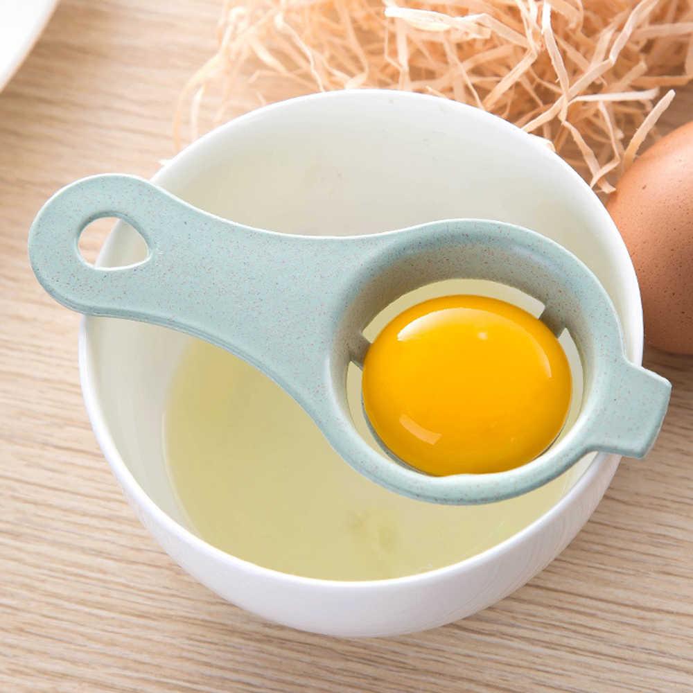 新しい卵黄セパレーター小麦わら健康と環境白卵黄ふるい卵分周器フィルター調理ツールキッチンガジェット