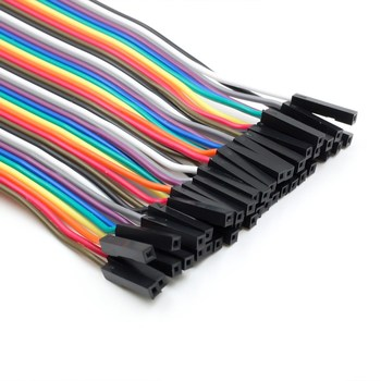 120pcs 20cm Multicolor Jumper Wires for Arduino / Raspberry Pi, 40 Male to Male, 40 Male to Female, 40 Female to Female 3