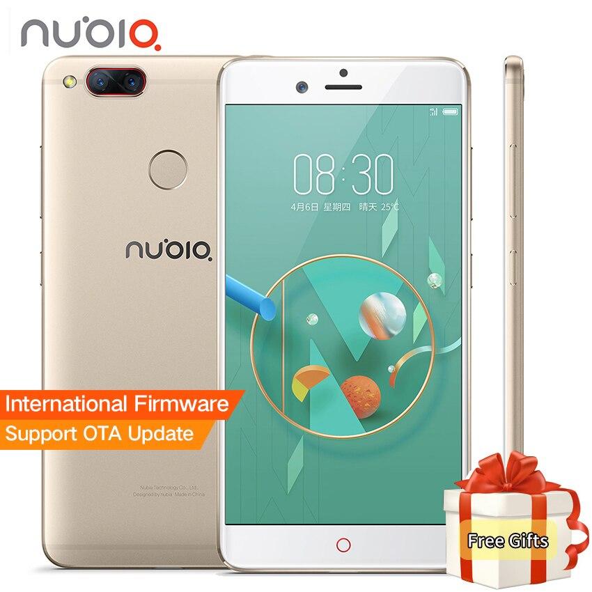 Новый Нубия <font><b>Z17</b></font> Мини два задних Камера смартфон 6 ГБ Оперативная память 64 ГБ Встроенная память 5,2 дюймов Snapdragon 652 MSM8976 двойной сим-карты Ultra Slim