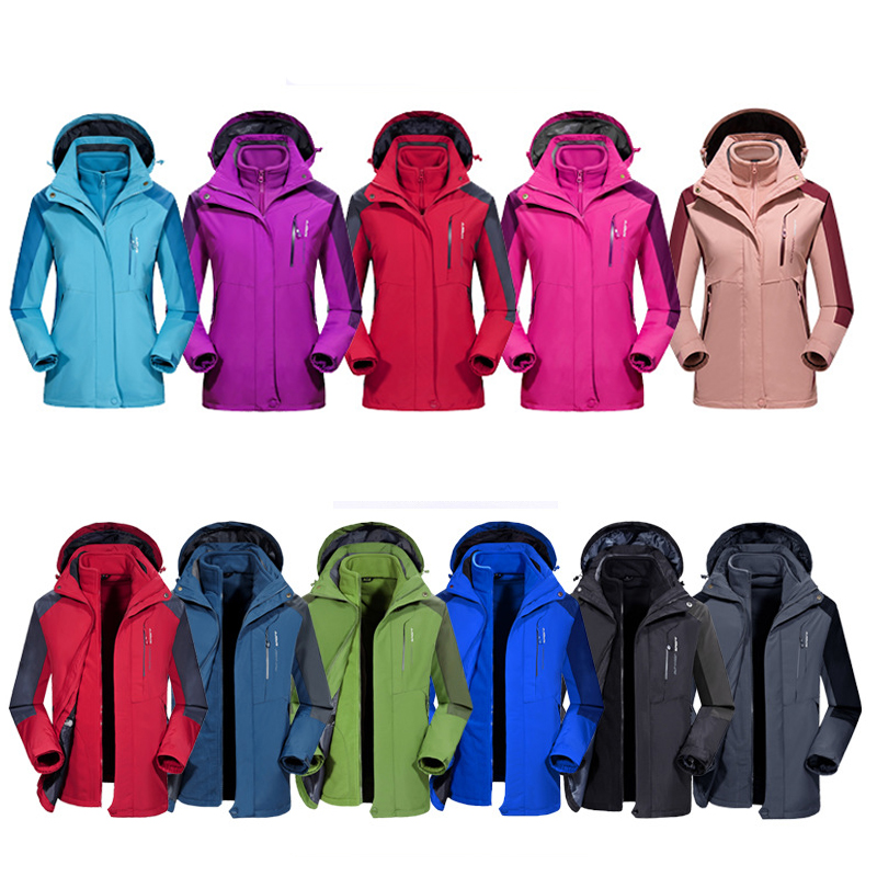 D'hiver En Plein Air Ski costumes Hommes Femmes Coupe-Vent Thermique Snowboard Veste Ski Veste Costume D'hiver Imperméables hommes M-7XL