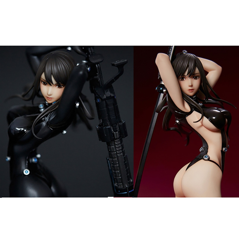 25Ccm Sexy Union Creative GANTZ Shimohira Reika Sword PVC Action Figure Toy Doll Birthday Gift For Children