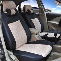 Yuzhe linho Universal tampas de assento do carro Para Mitsubishi Lancer Outlander Pajero Eclipse Verada Zinger asx I200 acessórios styling