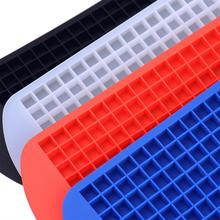 160 Grids Ice Cube Maker Silicone Bucket The Space Saving Refillable