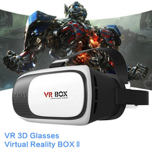 VR Glasses VR BOX 2.0 II Google 3D Glasses Virtual Reality Goggles Cardboard Headset Helmet For iPhone 7 6 6s 5 Mobile Phone