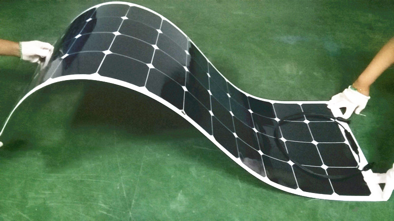 Power Foot Photosynthetic 100w Solar Panel Electric