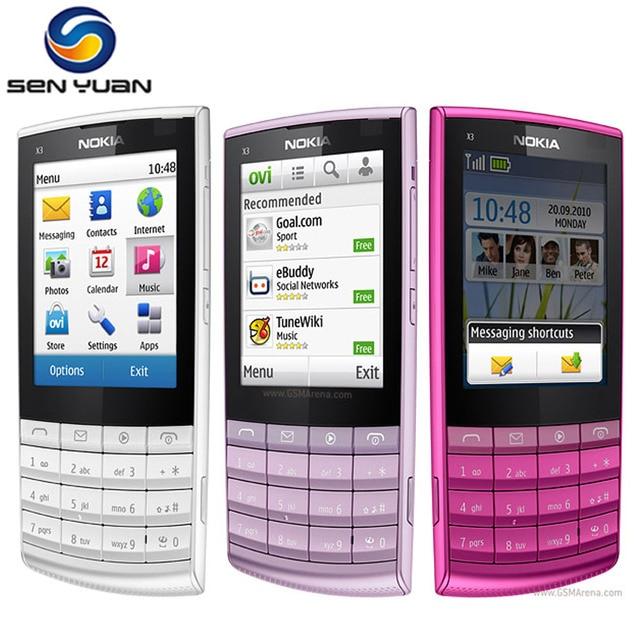 x3 02 original unlocked nokia x3 02 mobile phone 5 colors wifi rh aliexpress com Nokia X Nokia X