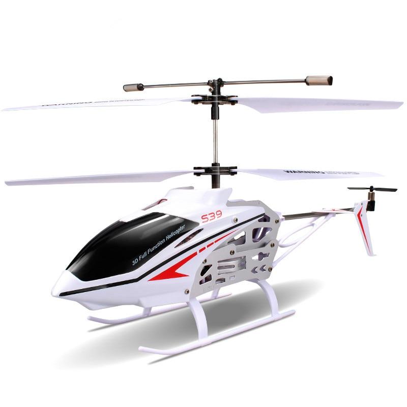 Frete Grátis fresco 3CH S39 1 2.4g RC Helicóptero com GYRO Luz Colorida Piscando Anti Choque Eletrônico RC crianças & Brinquedos do bebê - 6