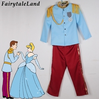 Boys Prince charming cosplay costume Halloween costumes for kids Cinderella prince outfit for children prince costume suit