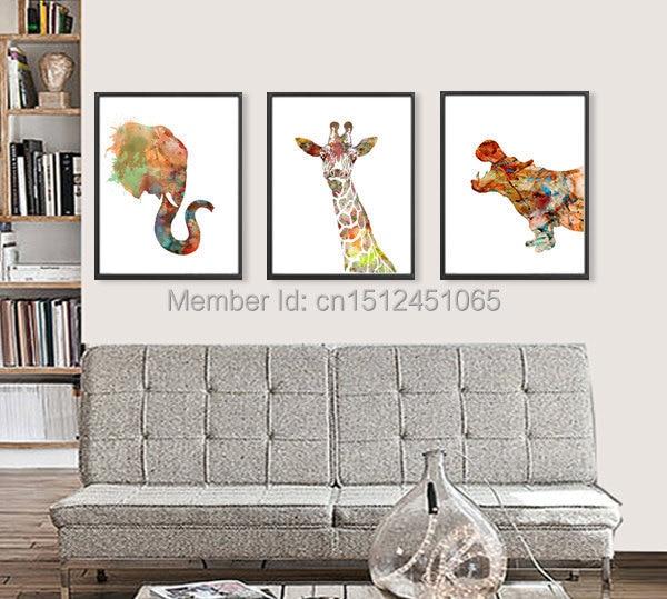 Online Get Cheap Giraffe Art Prints Aliexpresscom Alibaba Group