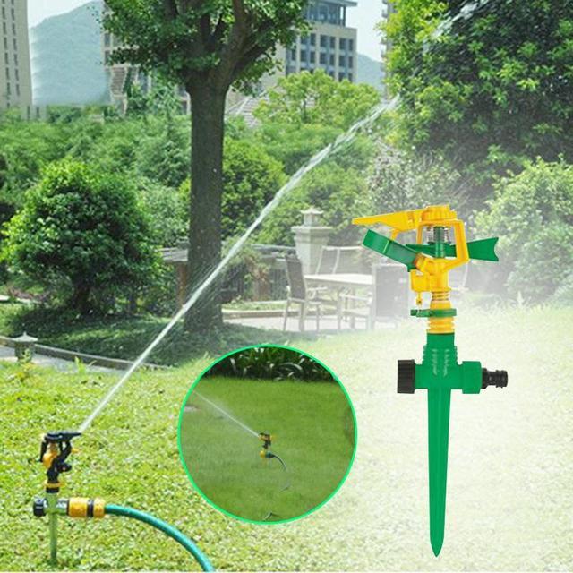 Rasen Bewässerungssystem rasen garten 360 grad sprinkler arrosage rotierenden bewässerung
