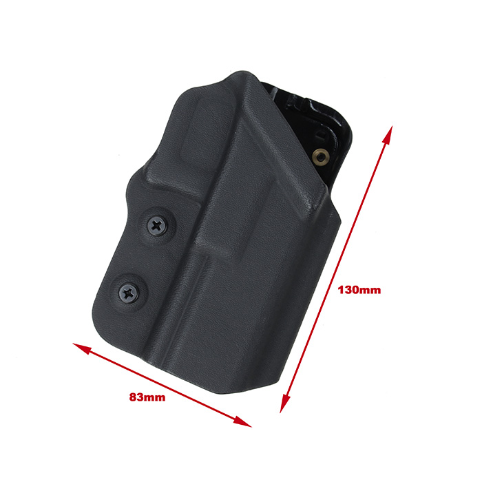 US $28 0 |Tactical Kydex Belt Clip Holster For G17 G18 G18C G19 Glock  Pistol Gun Holster(STG051209)-in Holsters from Sports & Entertainment on
