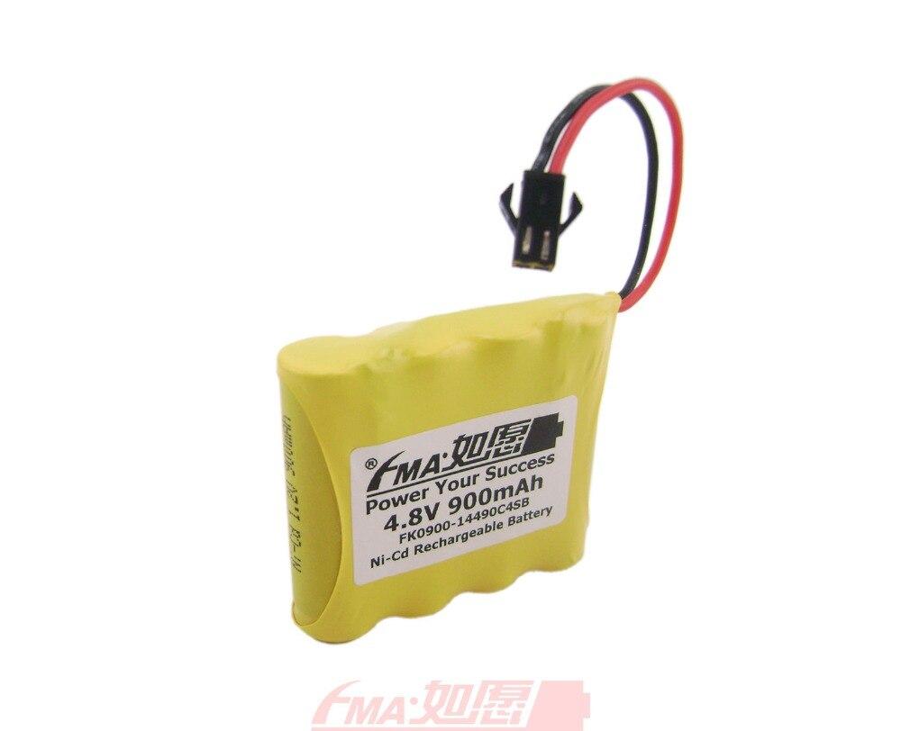 Ni-Cd AA 4,8 V 900 mAh Batterie für Fernbedienung Radios Modell Spielzeug RC Auto w/SM2P 4SB U/R