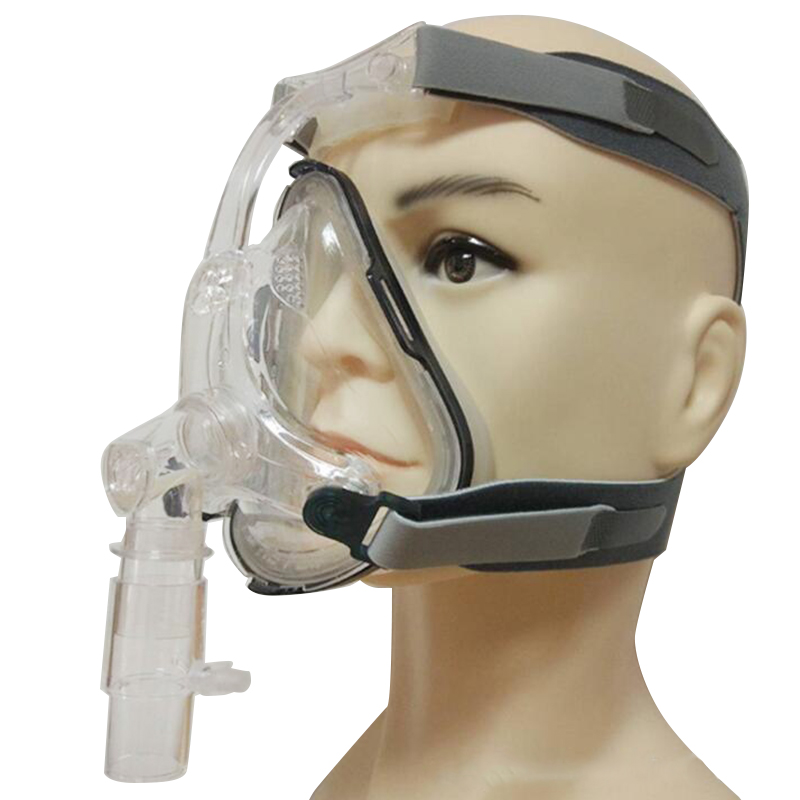 Full Face Mask CPAP Auto CPAP BiPAP Mask for Sleep Apnea Snoring People With Free Adjustable Headgear
