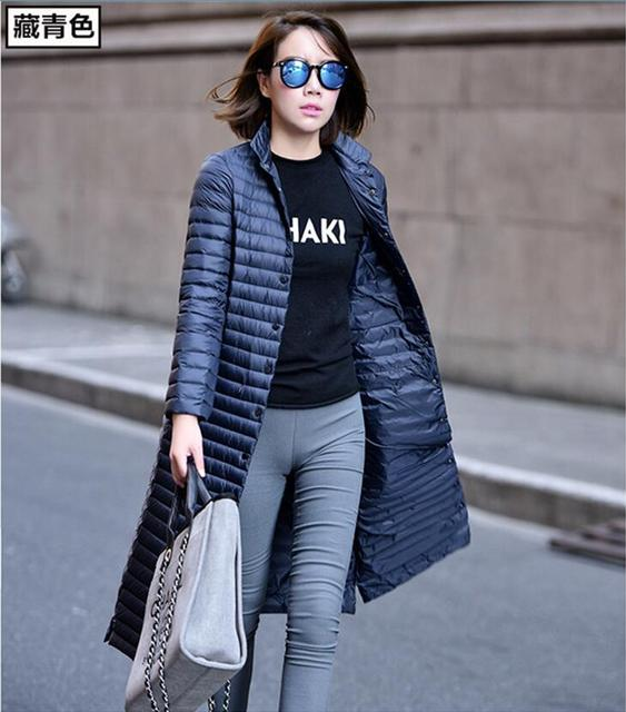 OEAID Fashion Long Down Jacket Women Down Coat 2018 New Ladies Jackets And Coats Outerwear Jackets Female