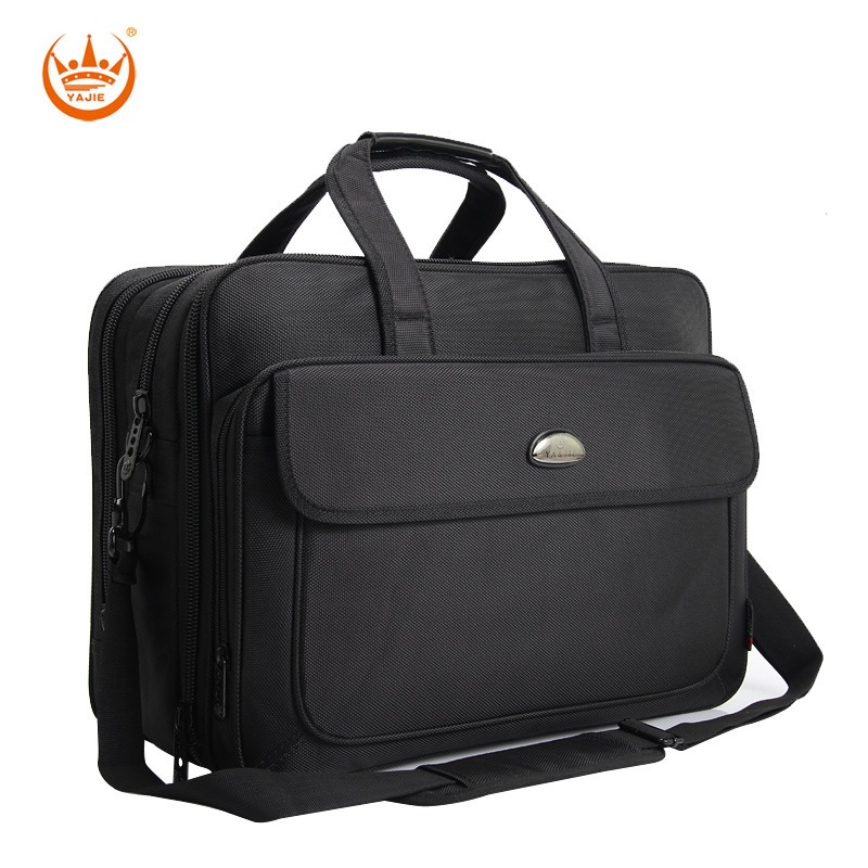 17 Inches Large Men s Briefcase Business Laptop handbags Extensible Waterproof Briefcases Man Computer Shoulder bag