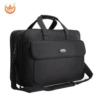 17 Inches Large Men's Briefcase Business Laptop handbags Extensible Waterproof Briefcases Man Computer Shoulder bag