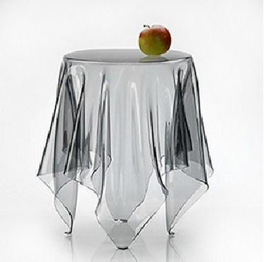 Ultra thin Soft Glass Transparent Plastic Table Mat Waterproof Oil Disposable Tablecloth PCV Dining Table Cloth