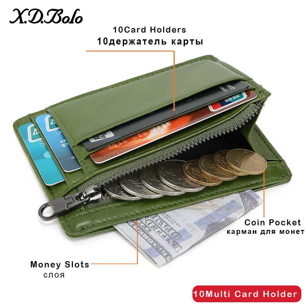 X. d. BOLO Cüzdan Erkek Deri Hakiki Inek Deri Erkek Cüzdan Ile Para Cebi için Adam Çanta deri Para Çanta Cüzdan Erkek