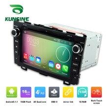 Quad Core 1024*600 Android 5.1 Car DVD GPS Navigation Player Car Stereo for Honda CR-V 2006-2011 Radio 3G Wifi Bluetooth