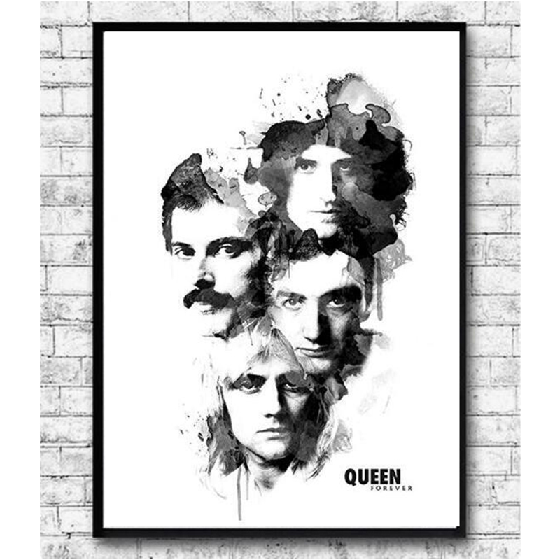 Queen Rock Band Music Full Square 5D DIY Diamond Embroidery Diamond Painting Cross Stitch Rhinestone Mosaic Famous Rock Band Art