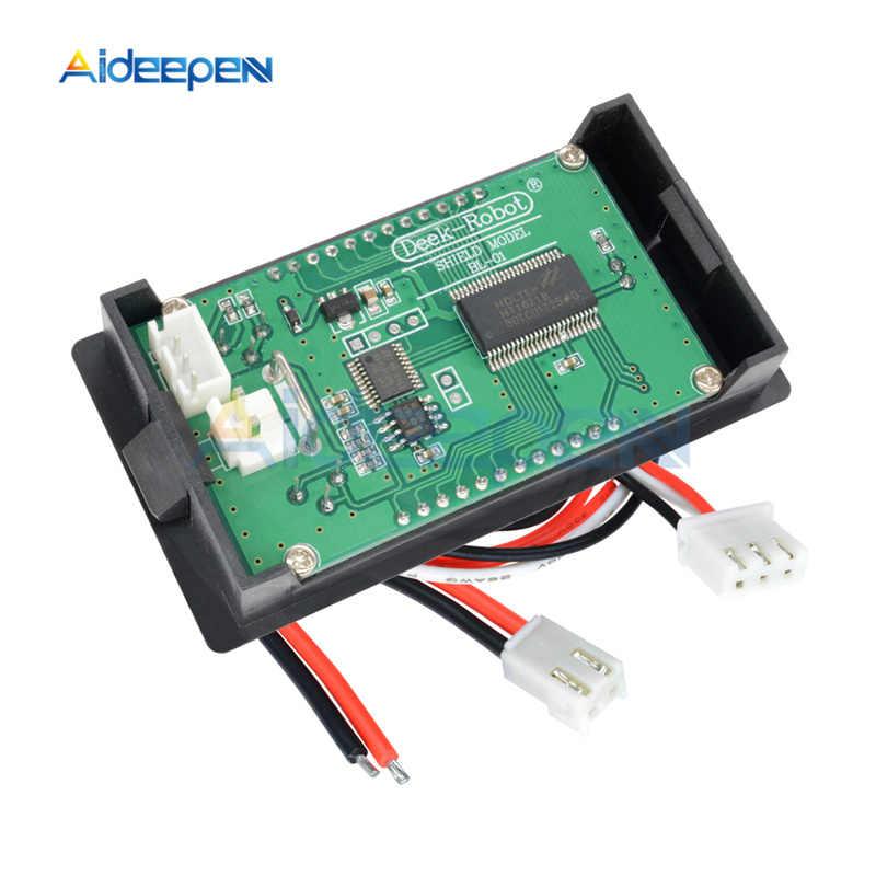 "Digital 1.37/"" LCD 0-100V 10A 1000W Voltage Current Wattmeter Temperature Tester"